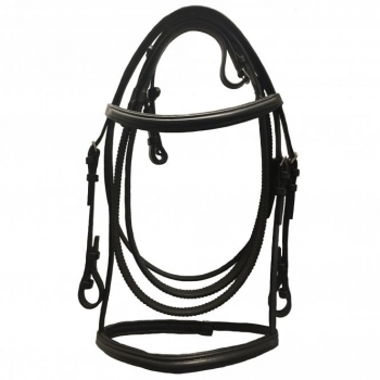 JHL Jumpers Horse Line Raised Cavesson Bridle